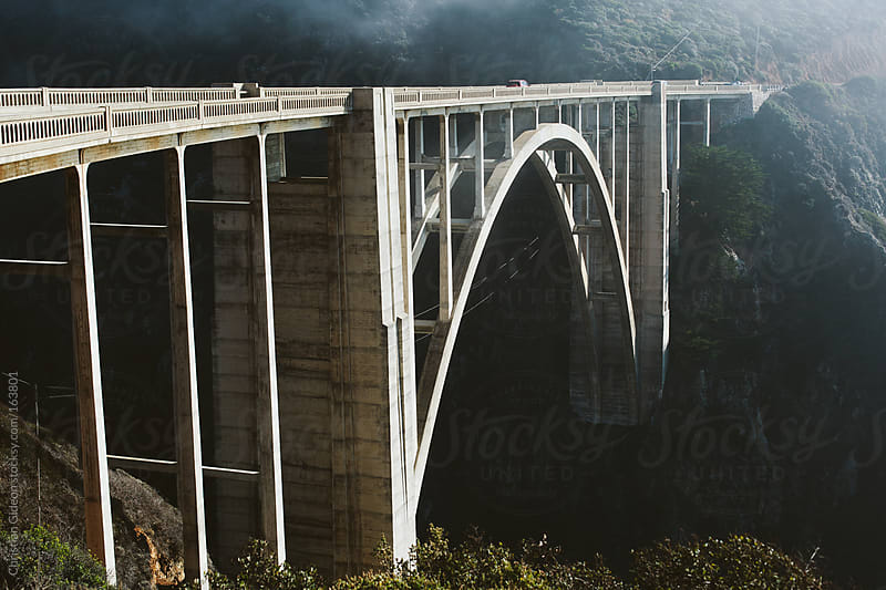 Bixby Canyon Bridge by Christian Gideon for Stocksy United
