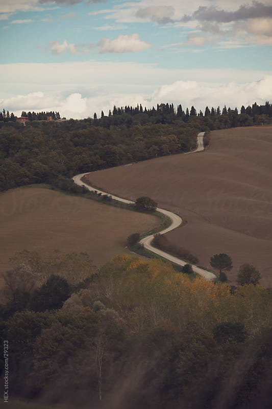 Tuscany Landscape. Italay by HEX. for Stocksy United
