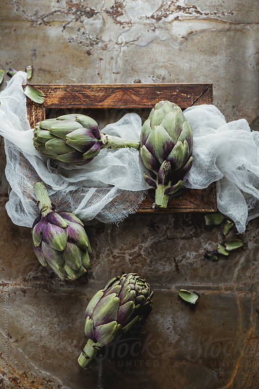 Artichokes by Tatjana Zlatkovic for Stocksy United
