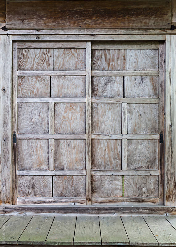 old slide door by jira Saki for Stocksy United