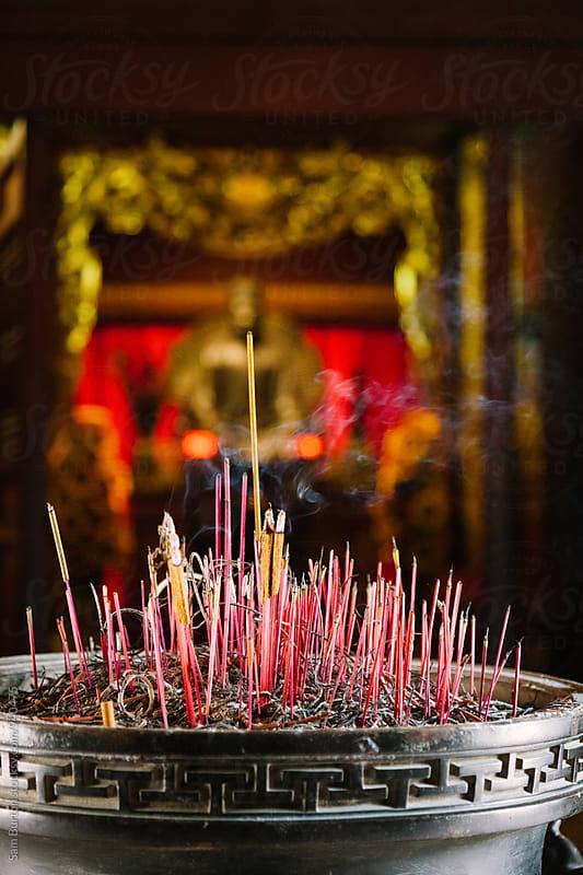 Incense sticks by Sam Burton for Stocksy United