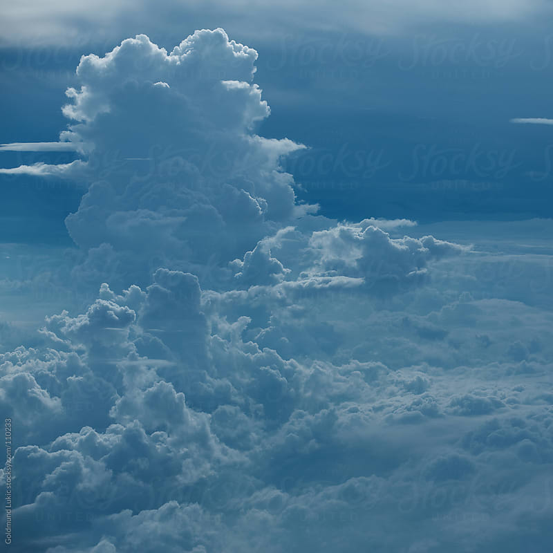 Above the Clouds by Goldmund Lukic for Stocksy United