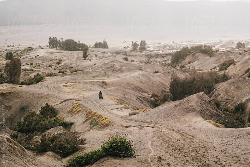 Bromo Landscape, Indonesia by Kevin Faingnaert for Stocksy United