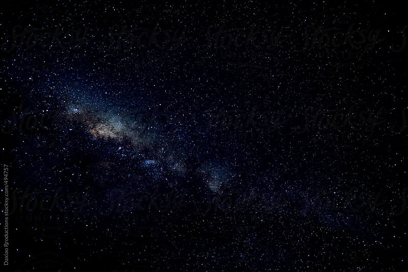 Milkyway night by Daxiao Productions for Stocksy United