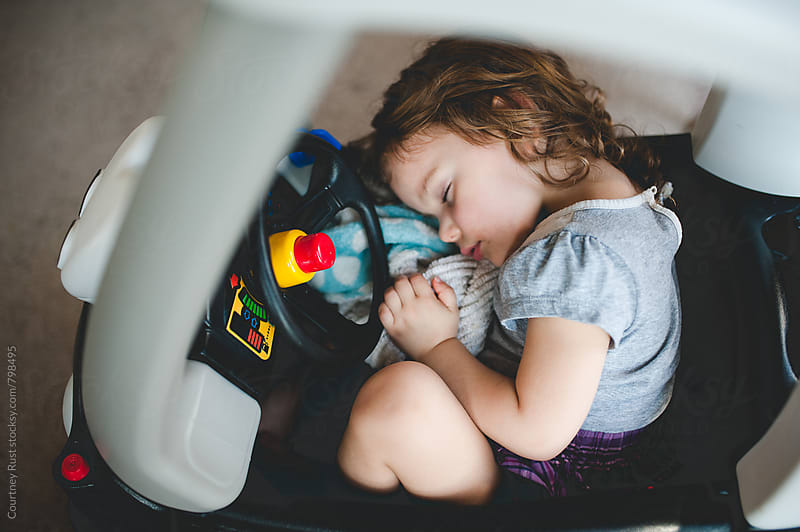Asleep at the Wheel by Courtney Rust for Stocksy United