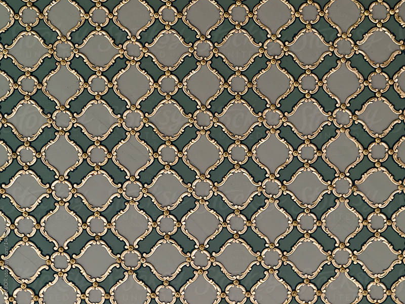 Byzantine Tiles detail in Istanbul Turkey by DV8OR for Stocksy United