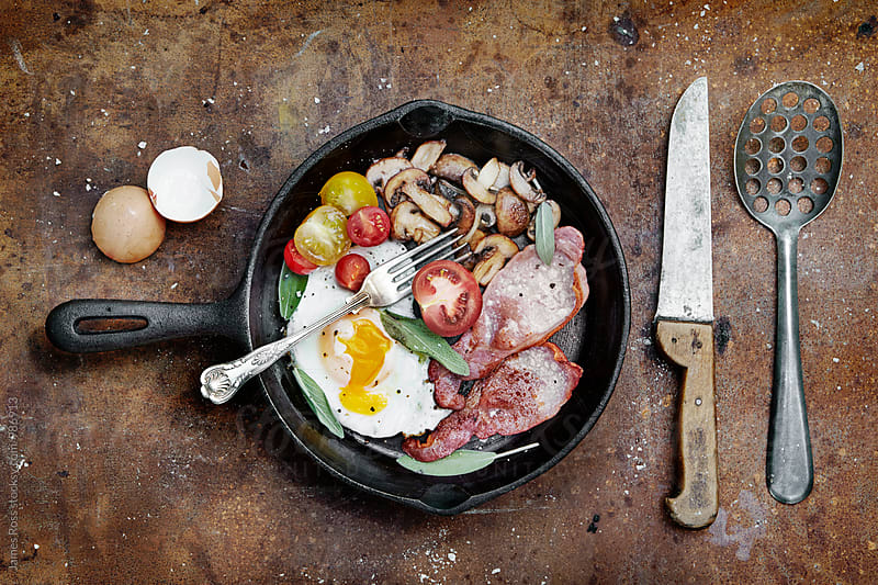 Sunday breakfast by James Ross for Stocksy United