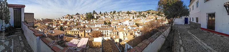 Views of the neighborhood of Albayzin, Granada by Bisual Studio for Stocksy United