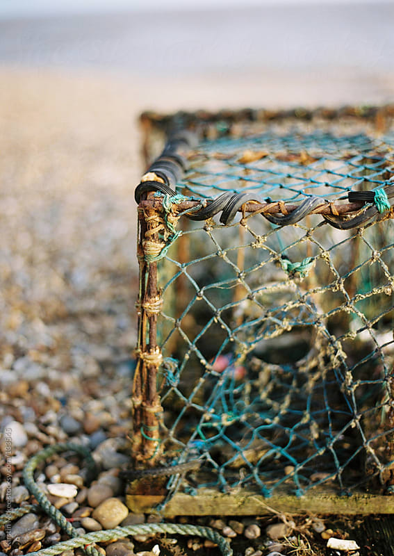 Fishing cage by Kirstin Mckee for Stocksy United