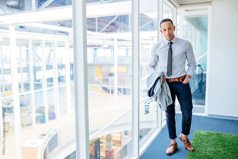 Businessman by Hillary Fox for Stocksy United
