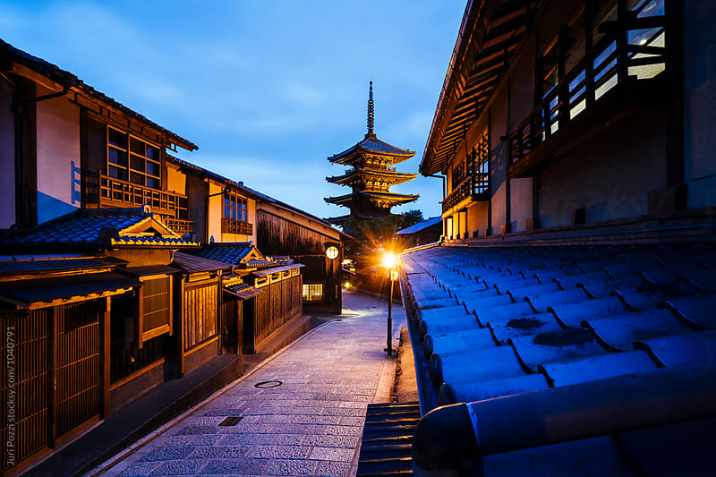 Gion district in Kyoto, Japan by Juri Pozzi for Stocksy United