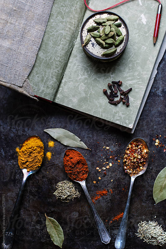 Herbs and spices.  by Darren Muir for Stocksy United