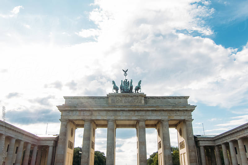 Brandenburg Gate by Nataša Mandić for Stocksy United