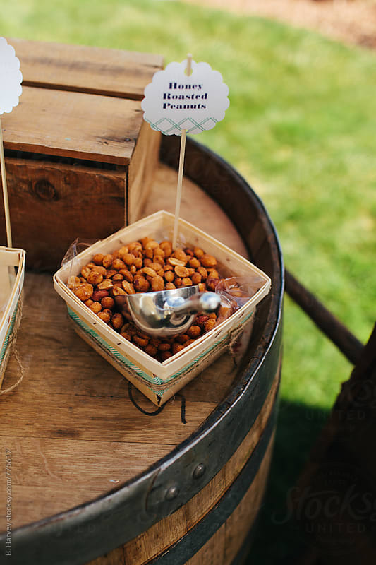 Honey Roasted Peanuts by B. Harvey for Stocksy United