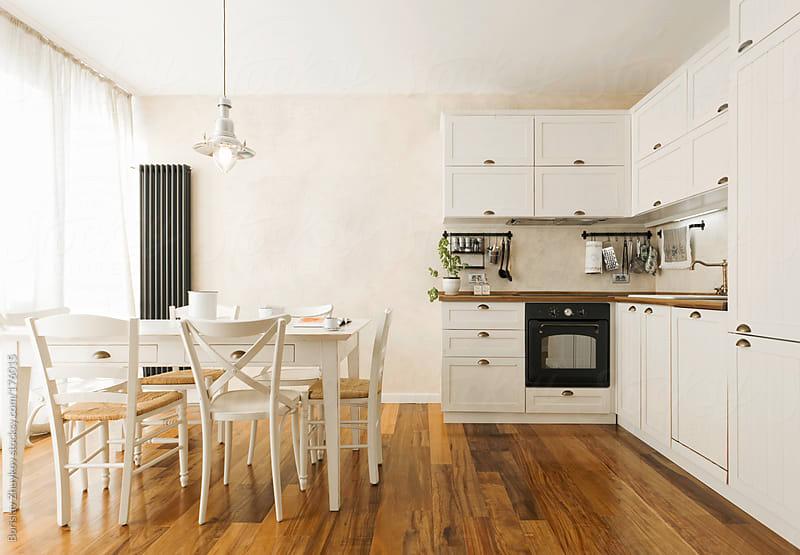 Modern vintage kitchen interior  by Borislav Zhuykov for Stocksy United