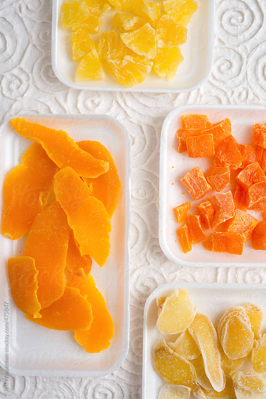 Assortment of Dried Fruits by Jeff Wasserman for Stocksy United