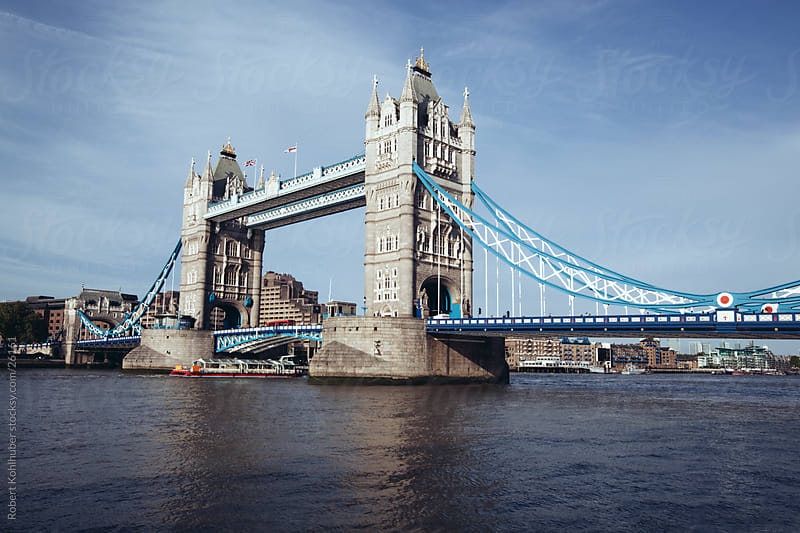Tower Bridge in London, UK by Robert Kohlhuber for Stocksy United