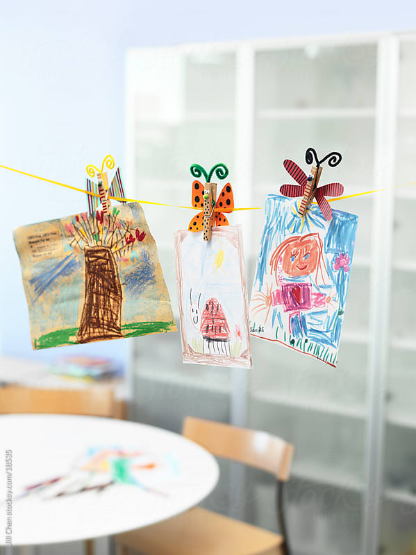 Kid's Crafts by Jill Chen for Stocksy United