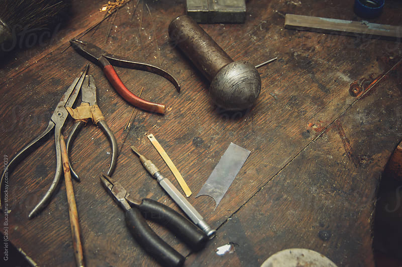 jeweler's tool set by Gabriel (Gabi) Bucataru for Stocksy United