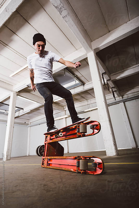 Skateboarding by Urs Siedentop & Co for Stocksy United
