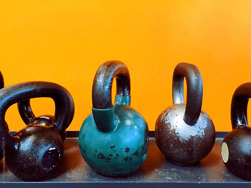 Gym tools by Juri Pozzi for Stocksy United