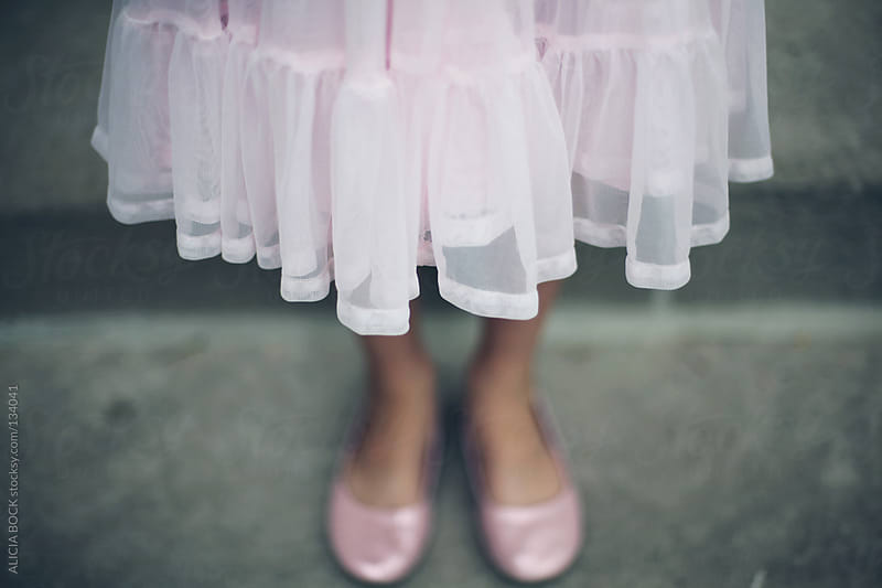 Pink Dress and Pink Shoes by ALICIA BOCK for Stocksy United