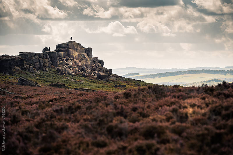 Hathersage, Peak District, UK by Richard Jones for Stocksy United