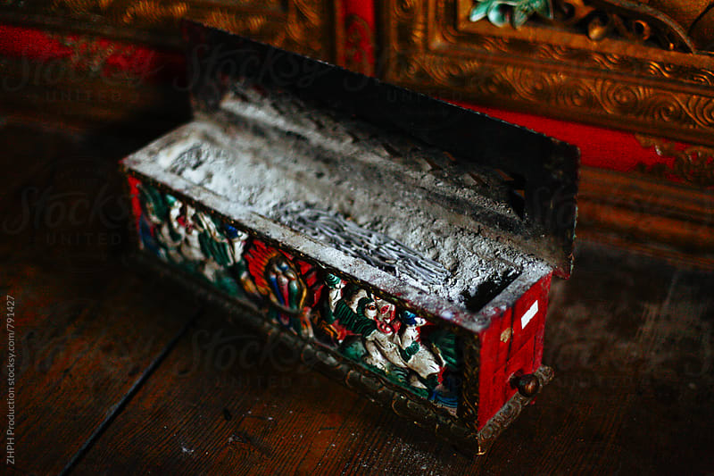 Old incense box by ZHPH Production for Stocksy United