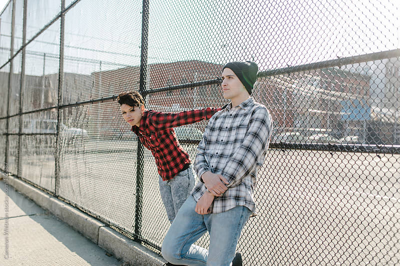 Urban Youth Hanging Out by Cameron Whitman for Stocksy United