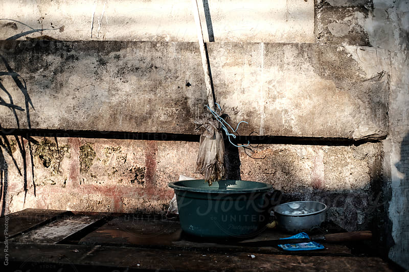 Old Objects Against a Dirty Wall by Gary Radler Photography for Stocksy United