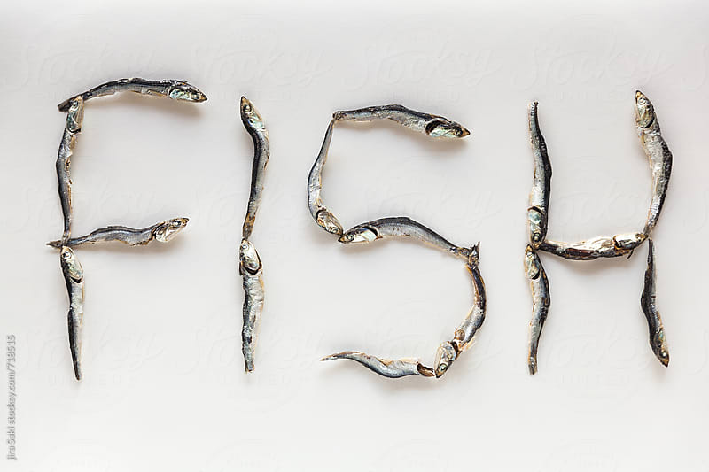 dried fish by jira Saki for Stocksy United