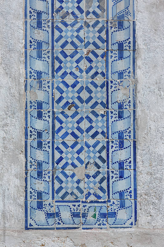 Typical Portuguese tile by Amanda Large for Stocksy United