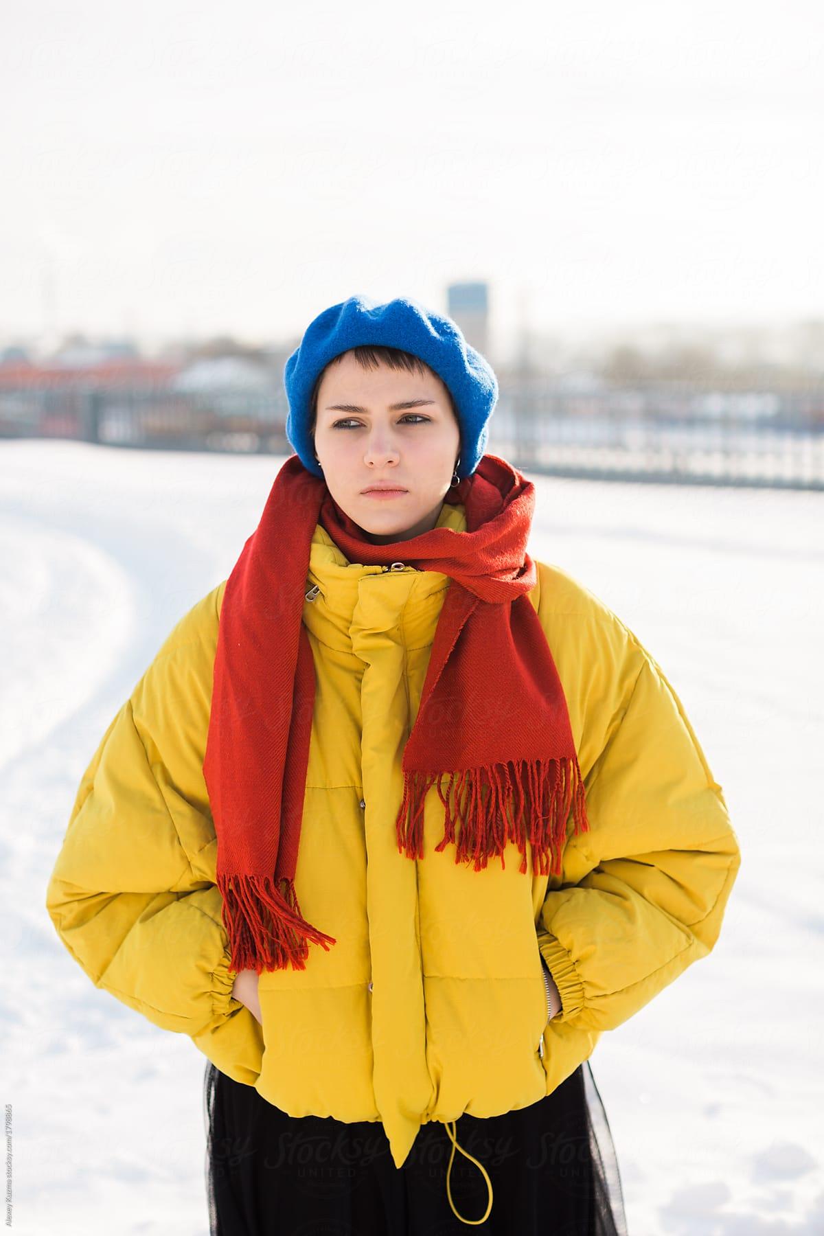 Winter Red Yellow