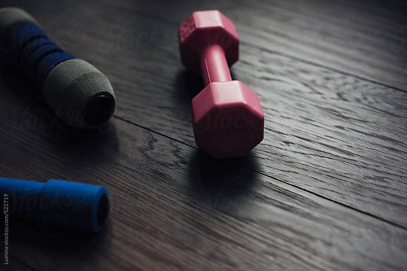 Dumbbells by Lumina for Stocksy United