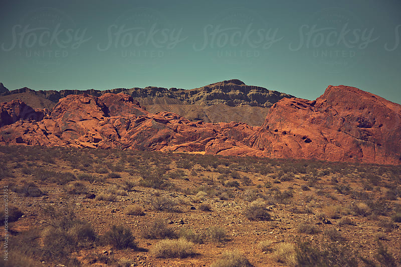 Valley of Fire by Nick Wong for Stocksy United