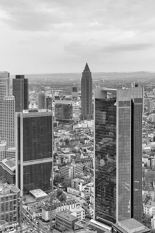 Frankfurt am Main cityscape by Marilar Irastorza for Stocksy United