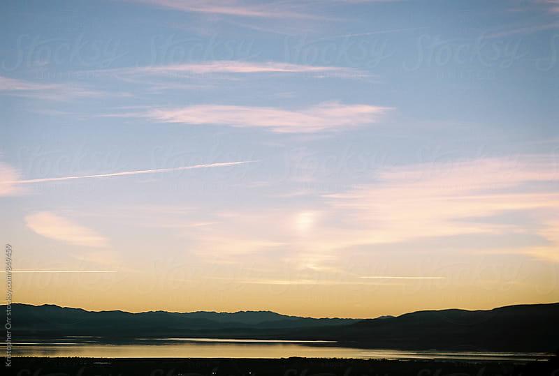 Utah Sunset by Kristopher Orr for Stocksy United