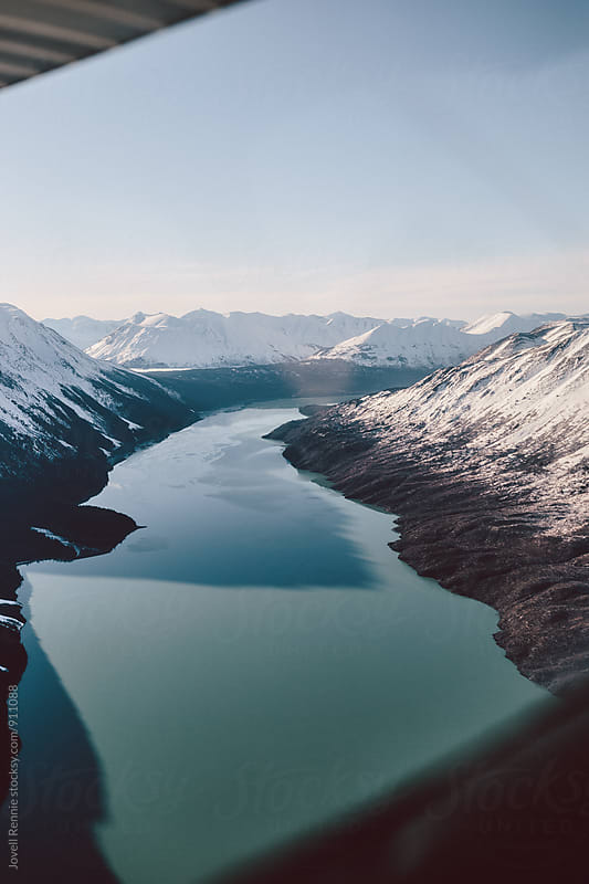 Aerial Alaska Pt. 3 by Jovell Rennie for Stocksy United