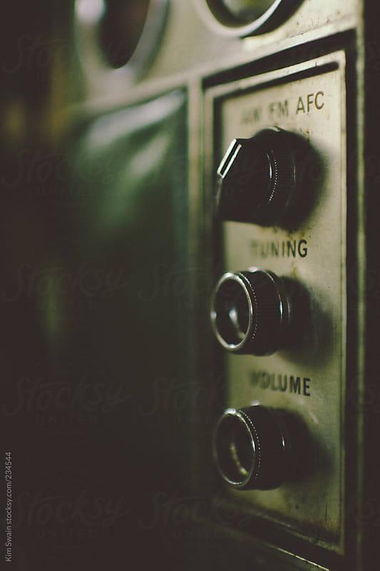 Vintage Radio Knobs by Kim Swain for Stocksy United