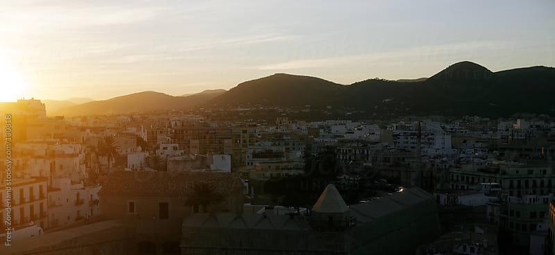 Ibiza City Sunset by Freek Zonderland for Stocksy United