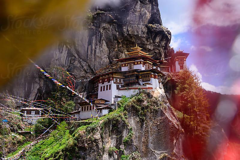 Taktshang Tigers Nest Monastery , Bhutan. by Gabriel Diaz for Stocksy United