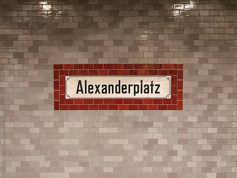 Alexanderplatz Subway Station by Good Vibrations Images for Stocksy United