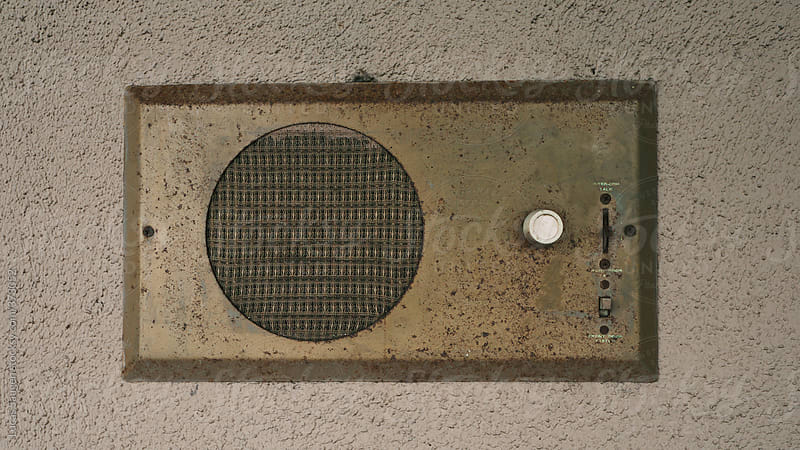 Vintage household intercom system. by Lucas Saugen for Stocksy United