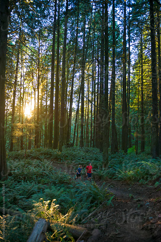 Trail Running by Ronnie Comeau for Stocksy United