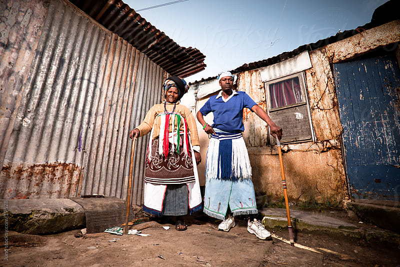 African Couple by Micky Wiswedel for Stocksy United