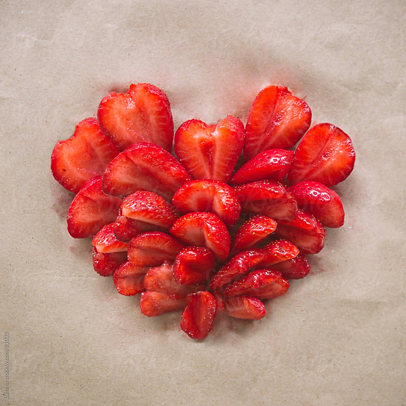 Strawberry Heart by Lumina for Stocksy United