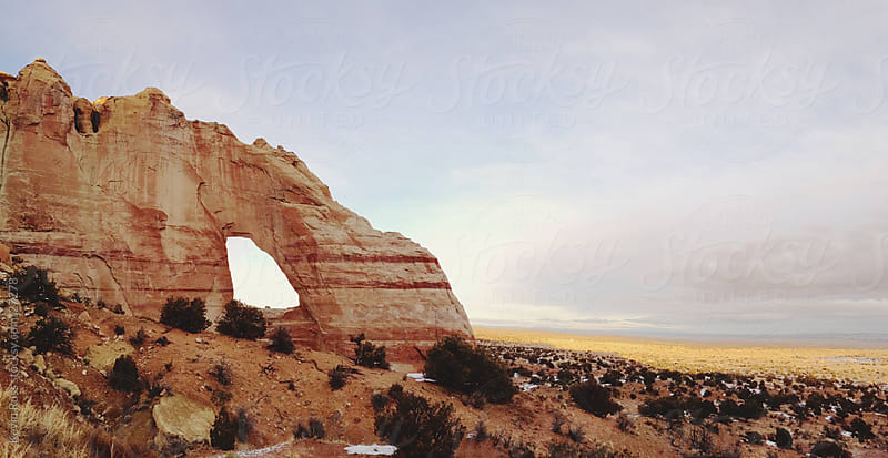 White Mesa Arch by Kevin Russ for Stocksy United