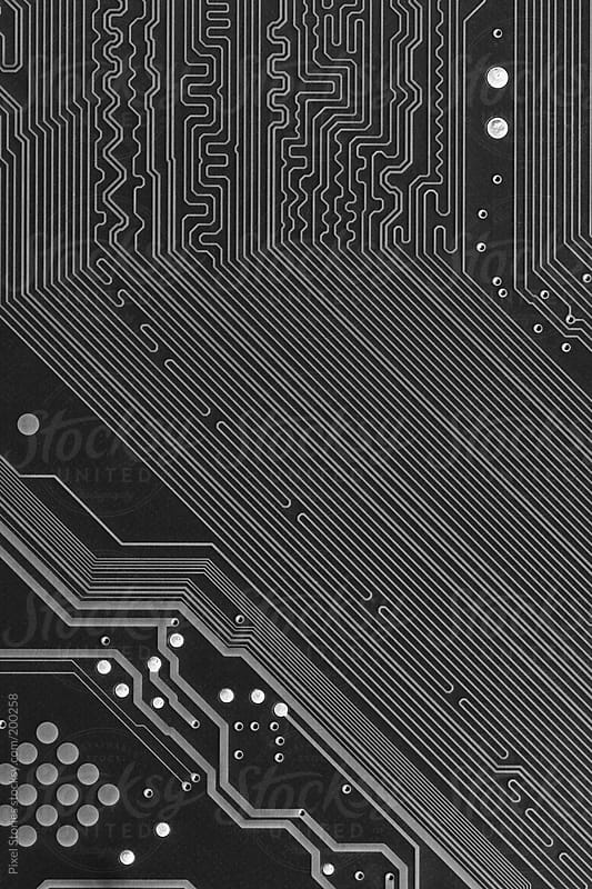 Printed circuit board macro by Pixel Stories for Stocksy United