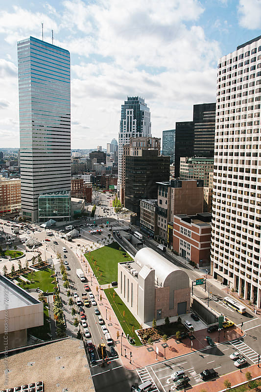 Financial District Boston, Massachusetts by Raymond Forbes LLC for Stocksy United