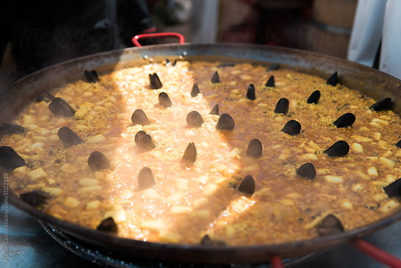 Big paella pan by Adrian Cotiga for Stocksy United